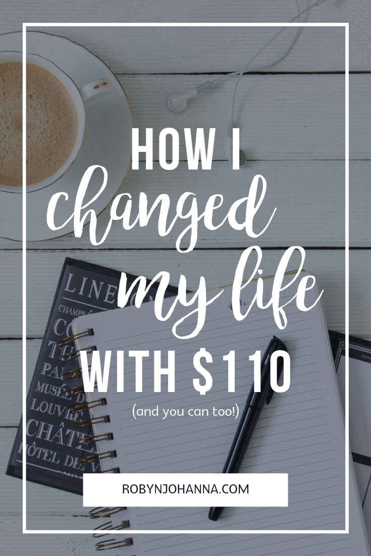 Deciding to get help can be difficult. It was for me! Read below to find out how one decision and $110 changed the course of my life. Could the same decision change your life?