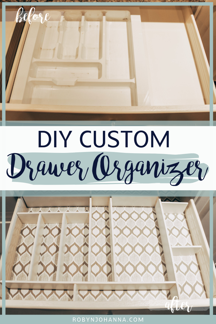What if I told you that you could DIY a custom drawer organizer in one day? Well, you've come to the right place! I am here to help you turn your kitchen utensil drawer from a cluttered mess to the most organized drawer in your house. Let's get started!