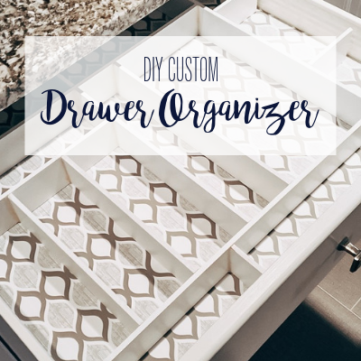 How To Make A Custom Drawer Organizer