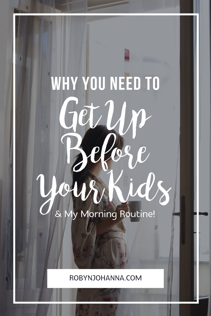 Are you a mama who hits the ground running each morning, using your kids as your alarm clock? Trust me, I get it. I've been there! Mama-ing is tough work and let me guess, you're exhausted and that extra bit of sleep sounds like a dream. I feel ya! Keep reading to find out how waking up before your kids can benefit you.