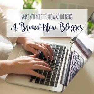 Brand New Blogger