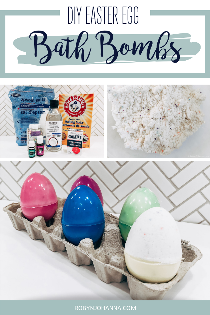 Are you looking for an alternative to Easter egg decorating? Want to create something you can use, instead of something you will throw in the garbage? Check out these Easter egg bath bombs. Your kids will have a blast making them and watching them fizz around the tub! #Easter #BathBombs #Toddler