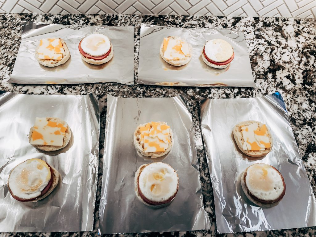 Freezer Friendly Breakfast Sandwiches