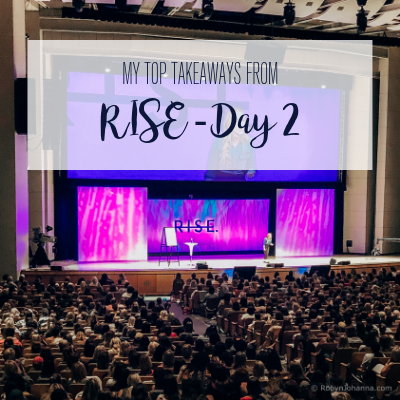 rise takeaways day 2
