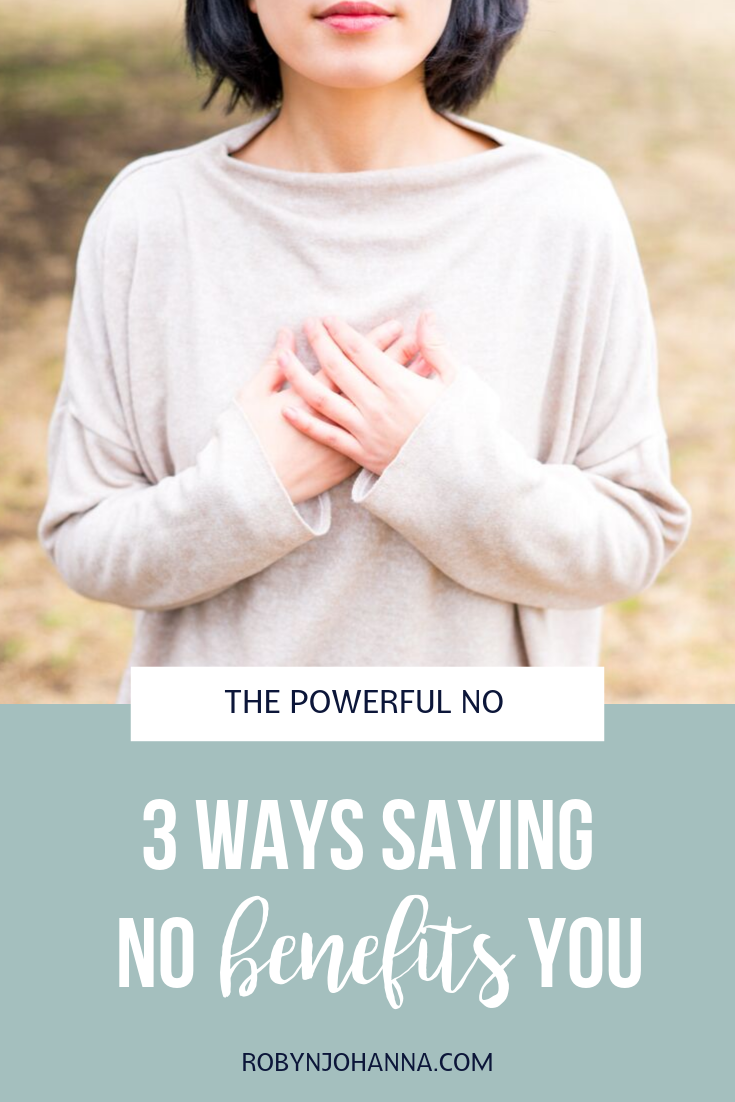 Are you guilty of saying yes, when you really me no? Me too, friend! Here are 3 incredible benefits of saying no that will inspire you to make a change. Keep reading and ditch that half-hearted yes!    #intuition #thepowerfulno #benefits