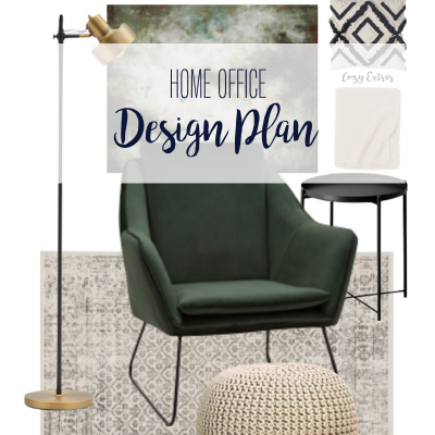 Struggling to create a design plan? I've been there. Check out this inspiring story, as well as our home office design plan.