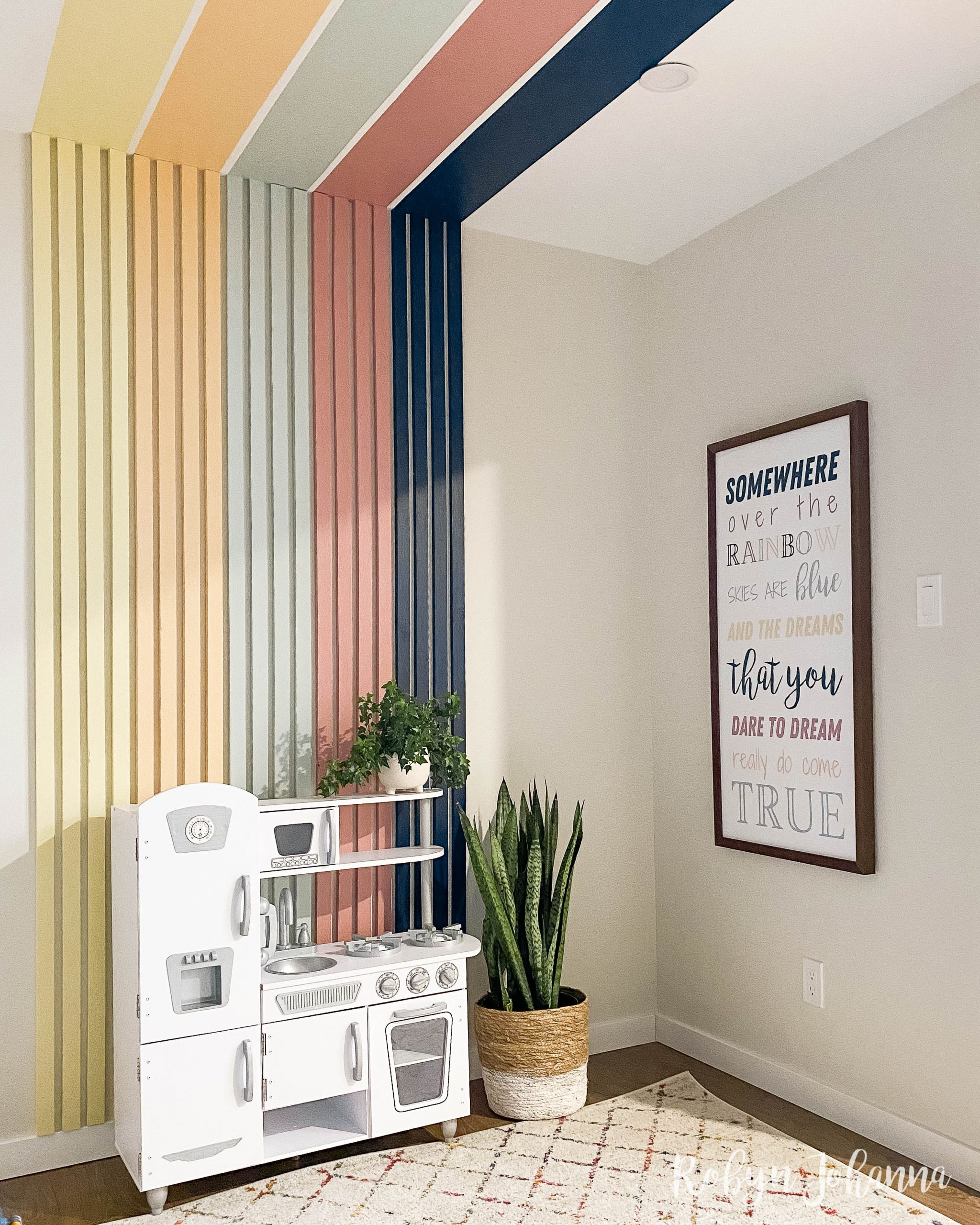 Are you looking for inspiring playroom ideas? These practical toy organization tips along with the playroom reveal will leave you feeling super inspired.