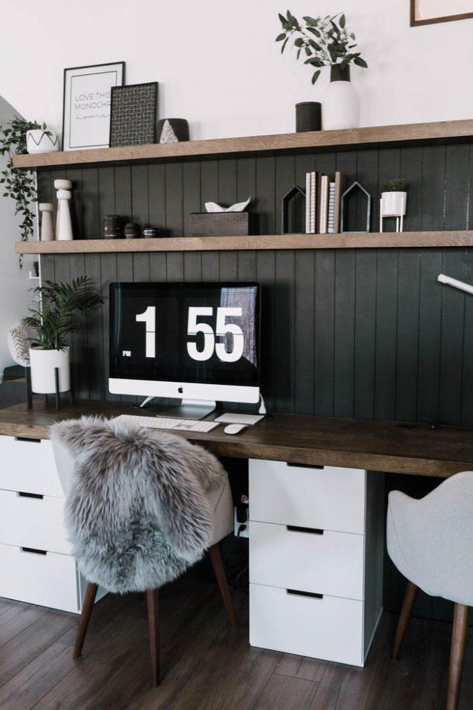 DIY Computer Desk - Love Create Celebrate