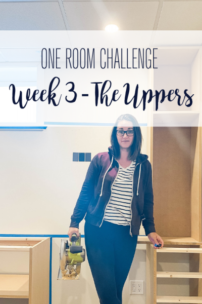 Today marks week 3 of the Spring 2021 One Room Challenge and I am so excited to be a guest participant! Keep reading for week 3 progress.