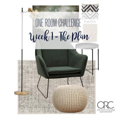 One Room Challenge: Week 1 – The Plan