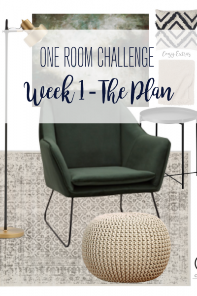 Today marks week 1 of the Spring 2021 One Room Challenge and I am so excited to be a guest participant! This weeks update includes the before, the design + diy plan and the inspiration for our home office transformation.