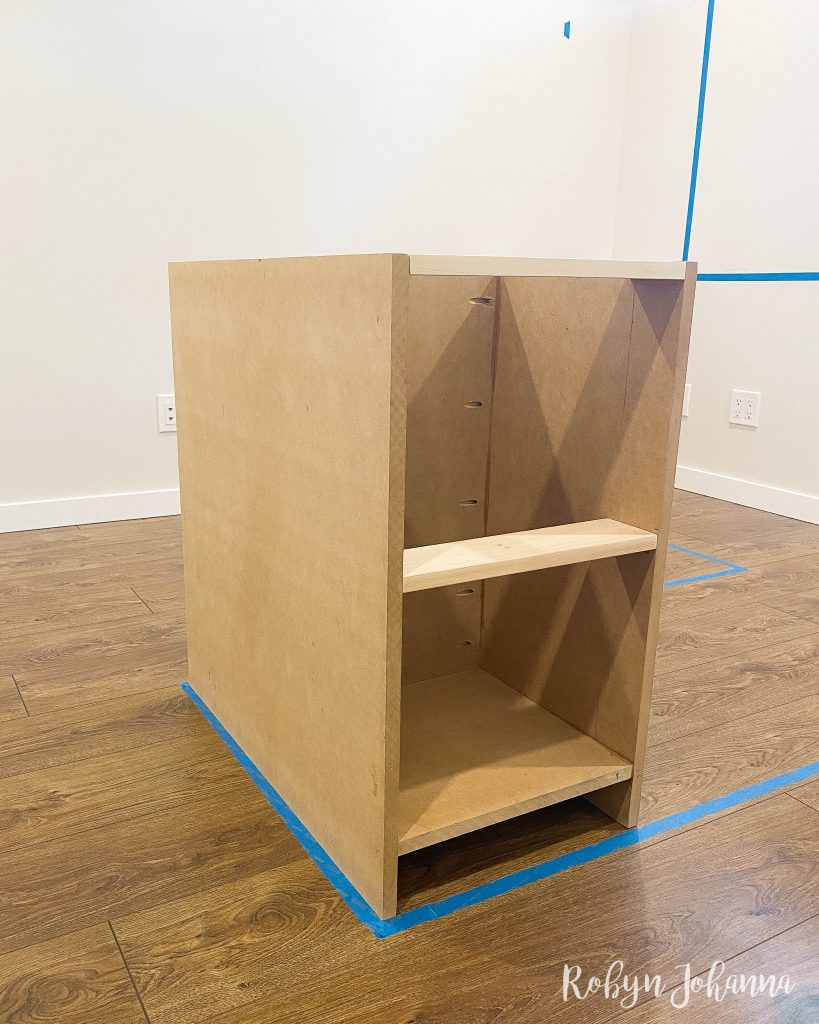 Today is week 2 of the Spring 2021 One Room Challenge and I'm excited to be a guest participant! Check out my week 2 progress here, including built-in progress and how to use a circular saw for long cuts.