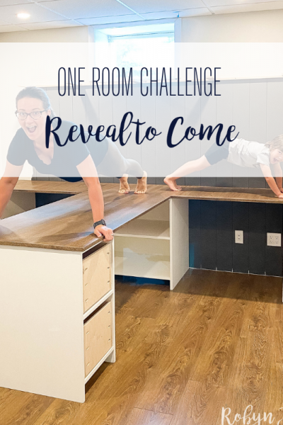 Today marks week 8 of the Spring 2021 One Room Challenge, which means it's reveal week! Click to check it out.